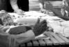 Collaborative Process - Black and white